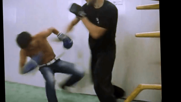Wing Chun vs Boxing intense fight