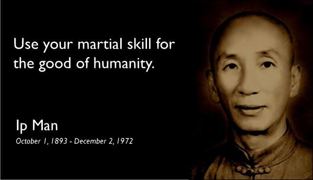 Grand Master Ip Man quote