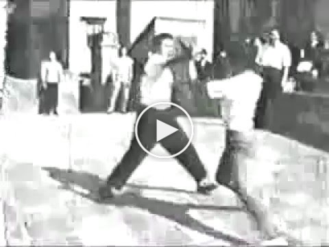 1961 Wingchun vs Northern Praying Mantis rooftop fight