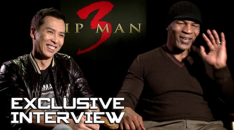 Donnie Yen and Mike Tyson in Ip Man 3 interview