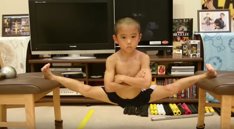 Ryusei Imai's training: the tiny Bruce Lee