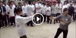 Wing Chun girls fight