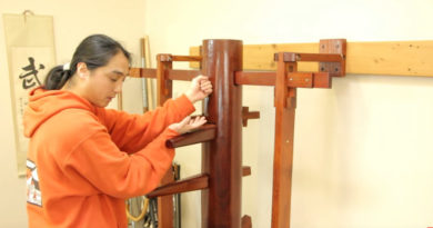 Free lesson: Muk Jong (Wooden Dummy) training drill