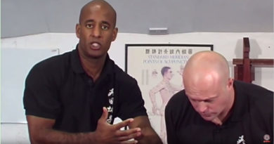 Jut Sau in Wing Chun with Sifu Mark Phillips