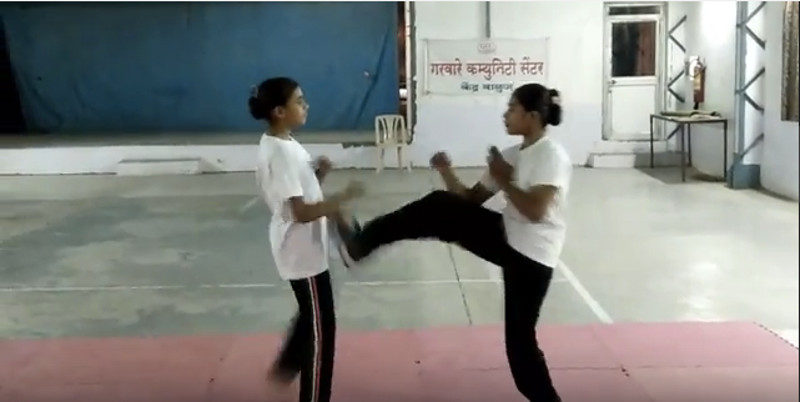 Wing Chun Girls Training in India