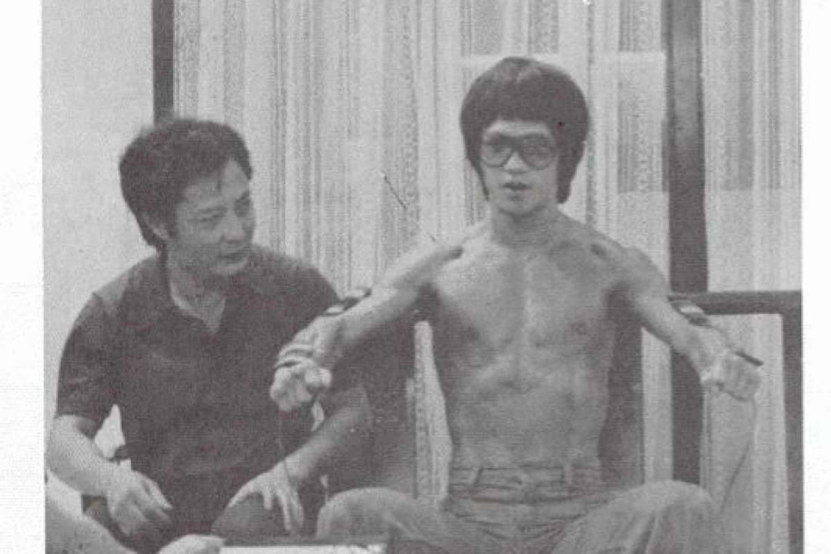 Bruce Lee and the Master that he couldn't defeat